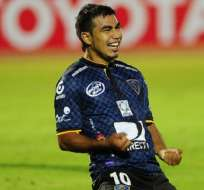 Sornoza fue el eje ofensivo del Independiente.
