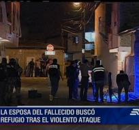 El hombre de 27 años murió al instante luego de recibir varios impactos de bala de tres hombres que se bajaron de un taxi.