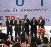ECUADOR.- El evento de ciencia y tecnología se desarrolla en Yachay, por los 8 años del gobierno de Correa. Fotos: Yachay
