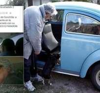 """URUGUAY.- """"No podía creer que el presidente me estaba llevando"""", sostuvo Gerhald Acosta. Fotocomposición de diario El Observador de Uruguay"""