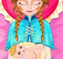 Una compañía de juegos en línea llevó a la hermana de Elsa hasta el quirófano.