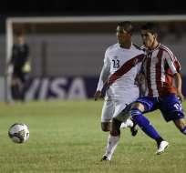 Peruanos y Paraguayos no quisieron ganar. Foto: EFE.