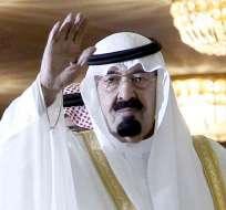 ARABIA SAUDÍ.- El rey de Arabia Saudí, Abdalá bin Abdulaziz, murió hoy, a los 90 años, tras sufrir una neumonía. Foto: EFE