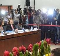 """Sin entrar en detalles sobre el contenido de las negociaciones, Machín dijo que están cumpliendo con el programa previsto y se está dialogando con """"fluidez"""". Fotos: Archivo"""