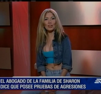 El abogado de la familia de la cantante asegura tener grabaciones que demuestran fuertes agresiones verbales del conviviente de Sharon hacia ella.