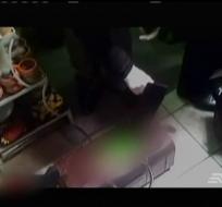 El cadáver del bebé de un año y diez meses tenía señales de golpes y estrangulamiento.