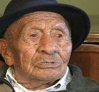 QUITO.- Don Segundo tiene ocho hijos, 26 nietos, 27 bisnietos y 2 tataranietos. Fotos: Cortesía