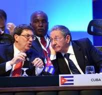 COSTA RICA.- Los 33 mandatarios participantes brindaron un espaldarazo a las negociaciones entre Cuba y Estados Unidos. Fotos: EFE