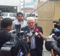 La comparecencia del ministro Cordero a la Asamblea se realizaría la próxima semana.