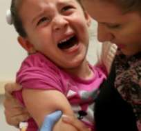 En 2014 en EE.UU. se dieron 644 casos de sarampión, el mayor número en más de dos décadas.