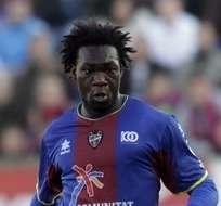 Caicedo marcó algunos goles en Levante.
