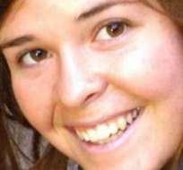 EE.UU.- Se trata de  Kayla Mueller, una trabajadora humanitaria secuestrada en agosto de 2013 en Siria. Fotos: Internet