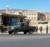 """YEMEN.- El primero en tomar la decisión fue EE.UU., cerró su embajada por el """"deterioro de la seguridad"""". Fotos: AFP"""