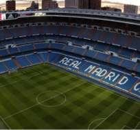 Estadio Santiago Bernabéu. Foto: Real Madrid.