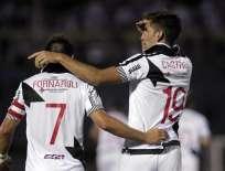 URUGUAY.- Con la victoria, San Lorenzo lidera las posiciones del denominado 'grupo de la muerte'.Fotos: EFE