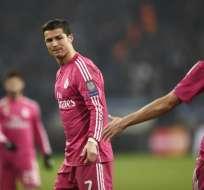 Aficionados critican duramente a Cristiano pese a que marcó ante Schalke. Foto: AFP.