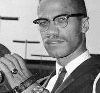 Malcolm X (1925-1965) inspiró a muchos con sus opiniones francas sobre las tensiones raciales en Estados Unidos.