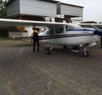 ECUADOR.- Desde el 2014, al menos siete avionetas con droga han sido interceptadas en distintas provincias. Foto: Archivo