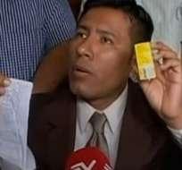 GUAYAQUIL, Ecuador. Guillermo Borbor, representante de los farmacéuticos de todo el país. Foto: captura de pantalla