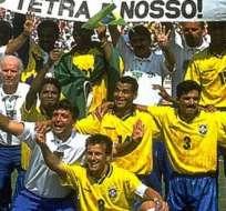 El delantero formó parte de la selección campeona de 1994.
