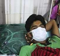 INDIA. La gripe porcina mató a 981 indios en 2009, 1.763 en 2010, 75 en 2011, 405 en 2012, 692 en 2013 y 216 en 2014, de acuerdo con datos oficiales. Fotos: EFE