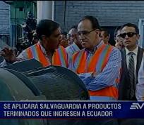 QUITO.- Todos los bienes de consumo que ingresan al país pagarán un mayor arancel de importación.