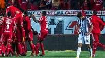 MÉXICO.- El triunfo se selló con goles de Juan Arango y uno del colombiano Dayro Moreno. Fotos: Twitter Agencias