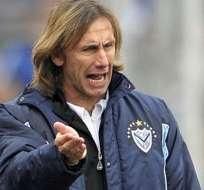 Gareca aceptó la propuestas de conducir a Perú. Foto: AFP.
