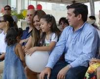 GUAYAQUIL.-Participan 500 hijos de personas privadas de libertad. Fotos: Twitter Ministerio de Justicia