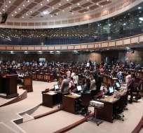 El salario de los asambleístas establecido por el Consejo de Administración Legislativa queda en 5.009 dólares. Fotos: Asamblea Nacional.