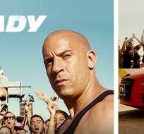 La séptima parte de Rápidos y Furiosos tiene previsto llegar a los cines próximo 3 de abril de 2015. Fotos: Fan Page Fast and furious