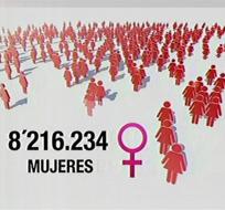En el país nacen más de 100.000  mujeres al año.