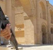 IRAK. Este ataque contra Hatra, capital del reino de los partos, se produce después de que el jueves los yihadistas arrasaran con la ciudad asiria de Nimrud. Fotos: Archivo