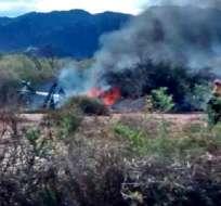 ARGENTINA.- El accidente se dio en la localidad de La Rioja al noroeste de Argetina. Foto: Twitter: @LaRiojaGabriel