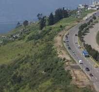 QUITO, Ecuador. Esta autopista tiene tres sectores considerados de alto riesgo, ubicados en: el Troje, el Triángulo de Piedra y el sector de la Universidad Internacional del Ecuador. Foto: Archivo