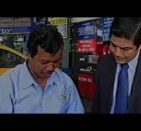 GUAYAQUIL.-Ecuavisa se abstuvo de publicar un video difundido por el Ministerio de Interior. Fotos: Captura
