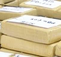 """Entre los 35 detenidos figuran """"dos miembros de la Policía Nacional de Perú que habían introducido la droga en el aeropuerto"""""""