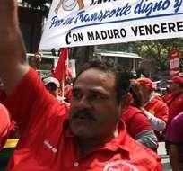 VENEZUELA.- La manifestación fue convocada por el Ministerio de Petróleo y el de Energía Eléctrica. Fotos: Web
