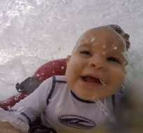 A su corta edad el hijo de Jorge Tirado se ha convertido en un todo un fenómeno del surf.