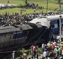 INDIA. Un portavoz afirmó que entre los fallecidos se encuentran al menos dos niños y cuatro mujeres. Fotos: EFE