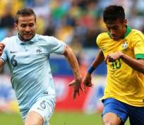 Francia y Brasil jugarán en París un encuentro amistoso (Foto: Internet)