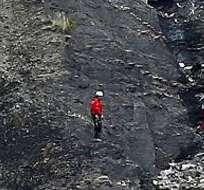 Búsqueda del avión de Germanwings El avión cayó en los Alpes franceses con 150 personas a bordo.
