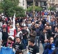 ARGENTINA. El gobierno realizaba negociaciones contrarreloj para desactivar el reclamo en el último tramo del mandato de Cristina Kirchner. Fotos: Archivo