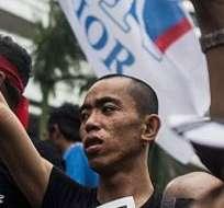Los partidarios de Anwar ya se han manifestado en Kuala Lumpur.