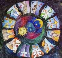 Para entender el zodiaco, uno tiene que tener en cuenta las estrellas que están detrás del Sol.