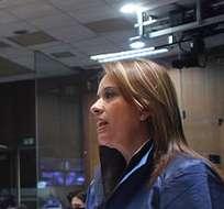 ECUADOR.- La presidenta de la Comisión de los Trabajadores, Betty Carrillo, manifestó que a diciembre de 2014, el Gobierno canceló una deuda de 3.500 millones de dólares al IESS. Foto: Asamblea Nacional