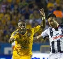 Guerrón fue artífice del triunfo de Tigres. Foto: MexSport.