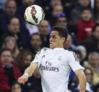 Javier 'Chicharito' Hernández (izquierda), jugador del Real Madrid (Foto: EFE)