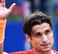 David Ferrer, celebra su triunfo ante su compatriota Albert Montañés (Foto: EFE)
