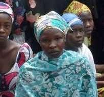 Las 300 mujeres fueron localizadas en el bosque de Sambisa, un bastión del grupo islamista en el noreste de Nigeria.
